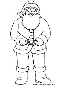 christmas santa claus body 84 coloring pages printable