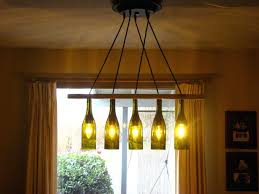 Wine Bottle Chandeliers Wine Bottle Chandelier How To Make Tags Bottle Chandelier