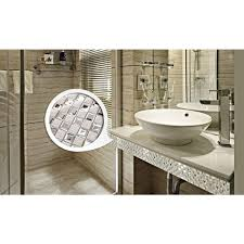 porcelain floor tile mirror mosaic tile sheets bathroom wall tiles