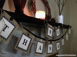 burlap thanksgiving banner easy last minute diy thanksgiving decor burlap duct and shelf