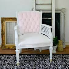 Upholstery Ideas For Chairs Velvet Upholstery Painted Chair Makeover Fox Hollow Cottage