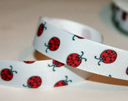 ladybug ribbon ladybug ribbon etsy