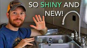 Rv Kitchen Faucet Replacement Installing An Rv Kitchen Faucet Replacement Freshwater
