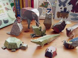 Book Paper Folding - 12pcs animals 3d puzzles paper folding toys whole book for