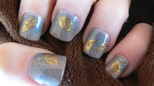 cre8tivektina u0027s crafty endeavors gorgeous fall nail art easy to do