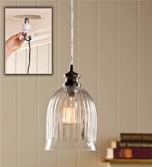 Ribbed Glass Pendant Light Lotus Blossom Steamer Woodstove Steamers Plow U0026 Hearth