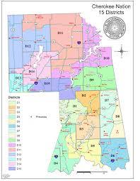 Navajo Reservation Map Cherokee Nation General Election Saturday June 27