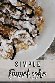 this simple funnel cake recipe will make sure that you never miss