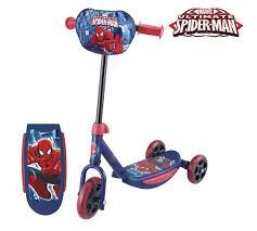 buy spider man scooter red argos uk shop