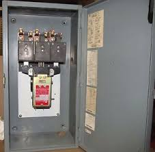 square d lighting contactor panel square d 100 enclosed lighting contactor 8903og11 89030g11 ebay