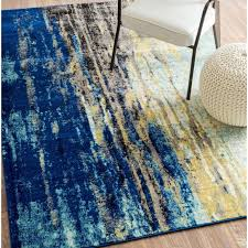 Navy Blue Area Rug 8x10 Furniture Awesome Light Blue Rug Peacock Feather Rug Blue Area