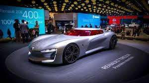 renault supercar paris motor show sees unexpected romance from renault cnn style