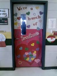 Valentine S Day Door Decorations For Preschool by Classroom Door Ideas For Valentines Day And St Patricks Day