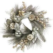 silver wreaths you ll wayfair