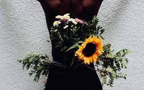flowers for men vibrant photos of men with flowers show the softer side of black