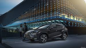 2018 lexus nx in night park on road side view hd images latest