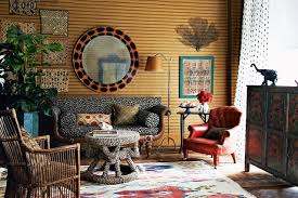 Living Room With Animal Print  Living Room Design Ideas - Animal print decorations for living room