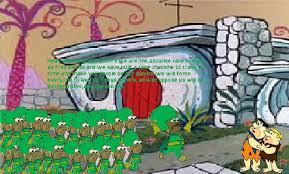 Rev Up Those Fryers Meme - fred rechid invades bedrock by sheldonrandoms on deviantart
