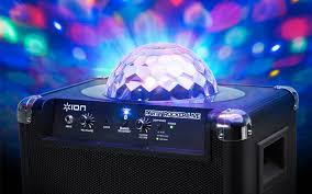 Blue Light Live Party Rocker Live Wireless Speaker With Party Lights And App