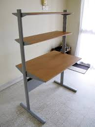 Diy Modern Desk Desk Walnut Office Desk Modern Desks For Home Diy Home Office