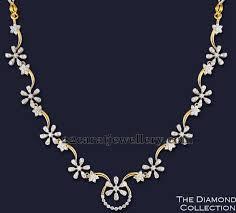 light diamond necklace images Simple and unique diamond set manjunath pinterest diamond jpg