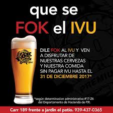 What Does El Patio Mean by Fok Brewing Co Home Facebook