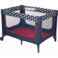 portable baby play yard playpen folding crib bed infant playard