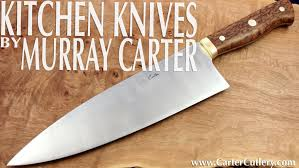 Guide To Kitchen Knives by Kitchen Knife Guide Carter Cutlery Youtube