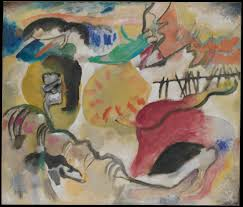 Drawings Of Children Working In A Garden Vasily Kandinsky Improvisation 27 Garden Of Love Ii The Met