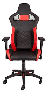 Office Chair Images Png Corsair T1 Race Gaming Chair U2014 Black Red