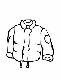 stay warm with this jacket in winter clothing coloring page stay