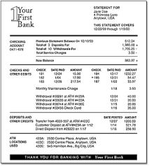 a bank statement best template collection