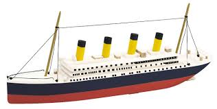 amazon com backyard and beyond basic boats titanic kit toys u0026 games