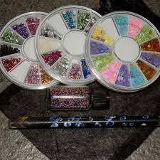 crystal and glitter nail art set sa beauty shop south africa