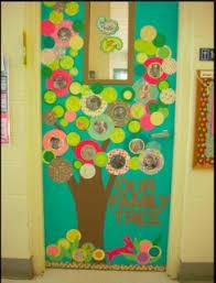our family tree classroom door decoration idea myclassroomideas