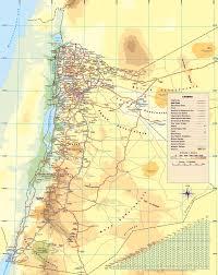 Map Of International Airports Maps Of Jordan Detailed Map Of Jordan In English Tourist Map