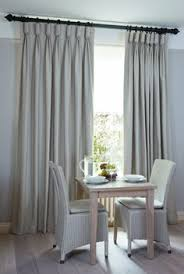 I Like The Subtle Leading  Bottom Edge Borders On These Curtains - Living room curtains design