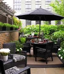 traditional outdoor umbrella patio contemporary with black outdoor