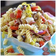 quick easy turkey club pasta salad small town woman