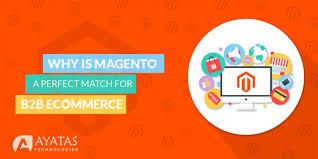 Magento B2b E Commerce Platform B2c E Commerce Why Is Magento A Match For B2b E Commerce Ayatas Technologies