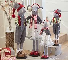 Pottery Barn Christmas Mantel Decorations by Mice Hearth Plush Decor Pottery Barn Kids
