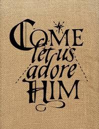 adore christmas printable christmas words free