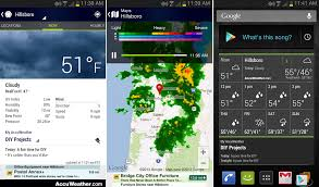 accuweather android app accuweather app updated for phones and tablets brings reved ui