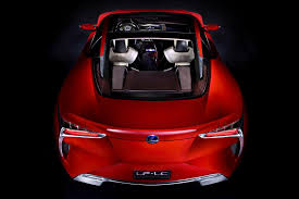 lexus hybrid sports coupe price lexus lf lc hybrid sports coupe concept photos