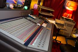 Recording Studio Mixing Desk by Prism Recording Studios Staffs Allstudios Recording Studio