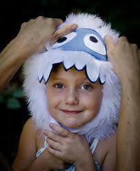 abominable snowman costume yeti hat for kids