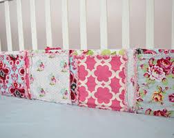 Crib Bedding Pattern Crib Bumper Pattern Etsy