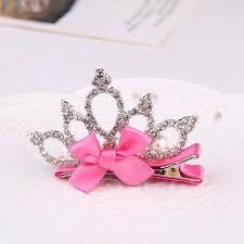 birthday girl pin girl princess tiara diamond hair pin