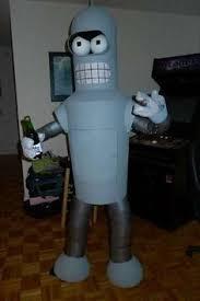 Futurama Halloween Costumes Bender Costume Futurama Disguises