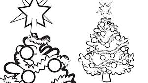 free printable easy christmas coloring pages holiday light